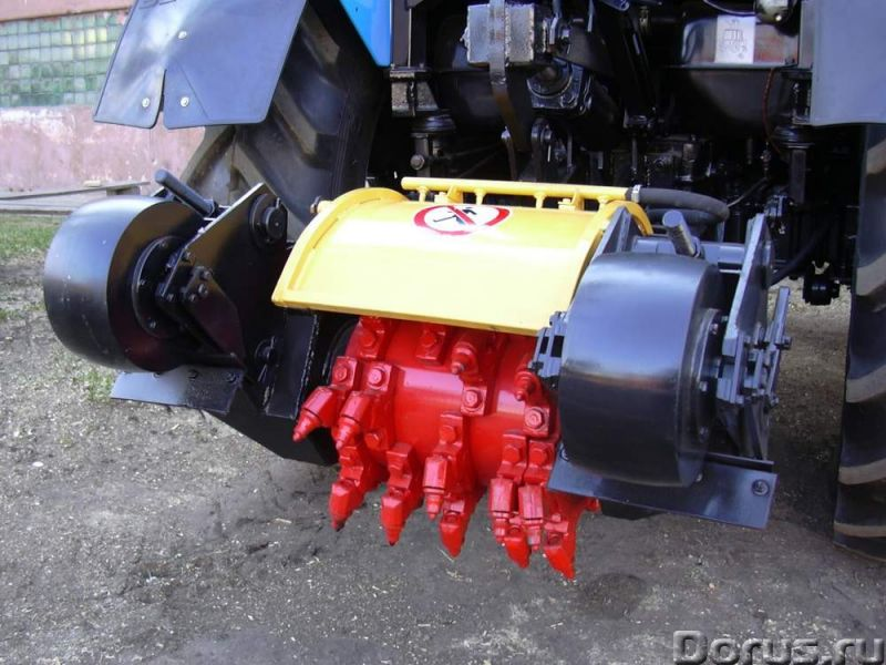 Фреза механическая ДЭМ 121 - Сельхоз и спецтехника - Основные характеристики: Базовый трактор Белару..., фото 1